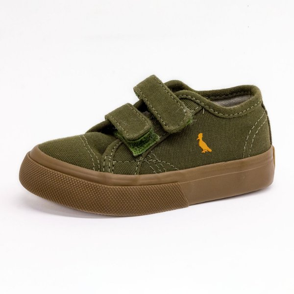 Tênis Casual Infantil Reserva Masculino Verde Militar