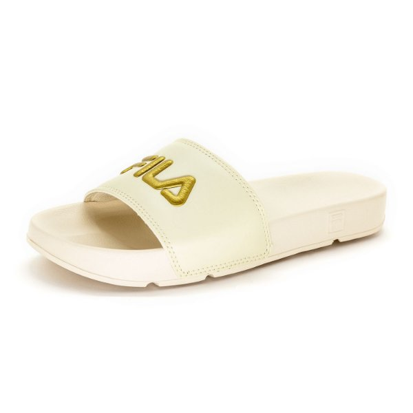 Chinelo Slide Fila Drifter Basic Feminino Off-White