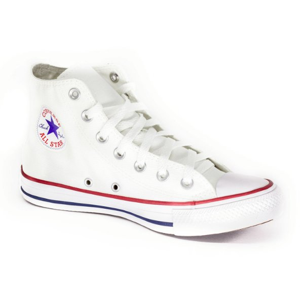 Tênis Casual Cano Alto Converse All Star Branco