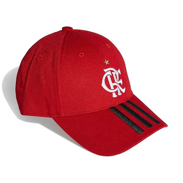Boné Adidas Baseball CR Flamengo 1 Unissex Vermelho