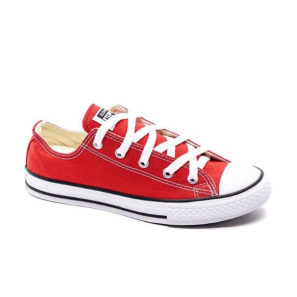 Tênis Casual Infantil Converse All Star Unissex Vermelho