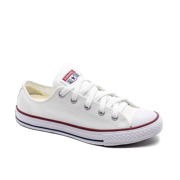 Tênis Casual Infantil Converse All Star Unissex Branco