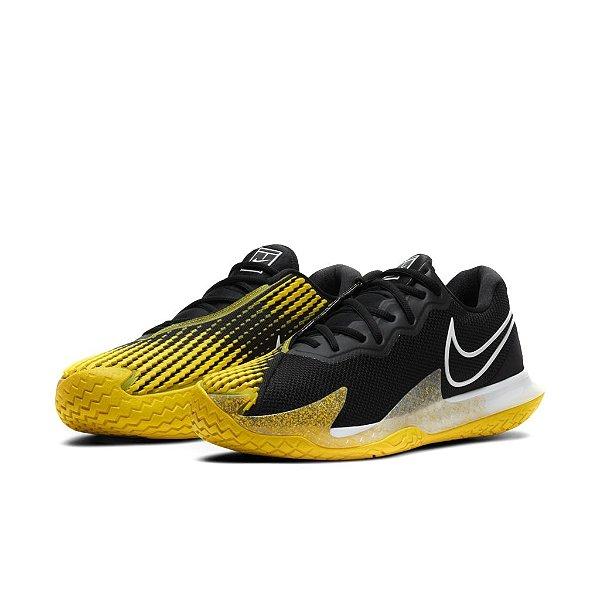 Tênis Esportivo Air Zoom Vapor Cage Masculino Amarelo e Preto