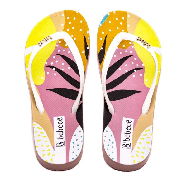 Chinelo Bebecê Feminino Tropical