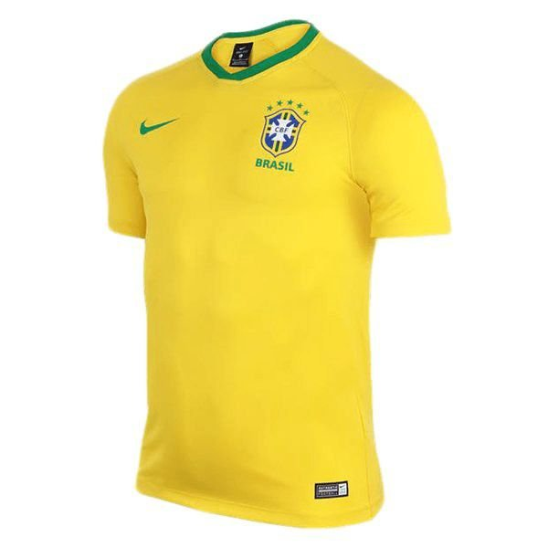 Camisa Nike Seleção Brasileira I Torcedor Masculina Amarelo