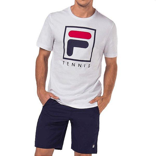 Camisa Fila Soft Urban Masculina Branca