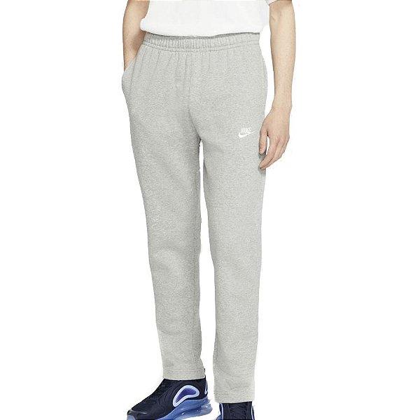 Calça Nike Sportswear Club Fleece Masculina Cinza