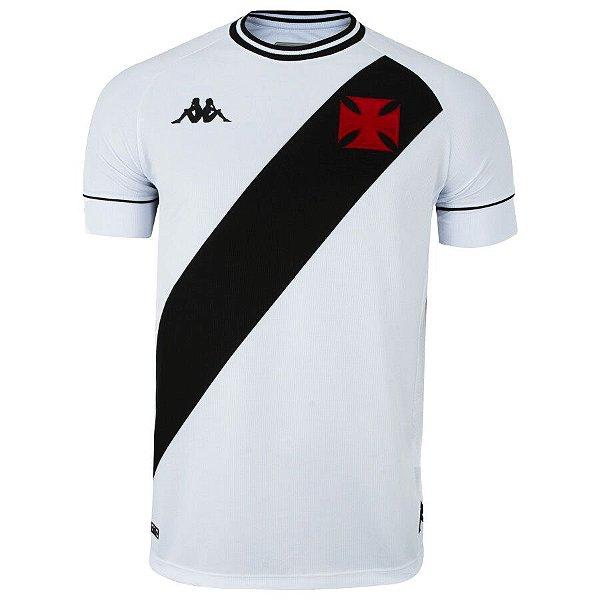 Camisa Kappa Vasco da Gama II 2020 Masculina Branco