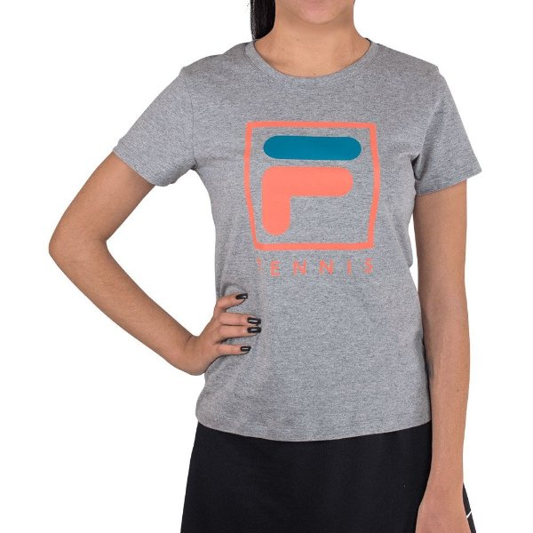 Camisa Fila Soft Urban Feminina Cinza Mescla