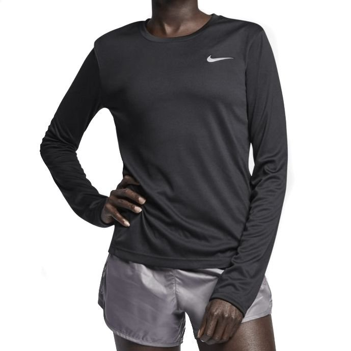 Camisa Nike Miler Feminina Preta