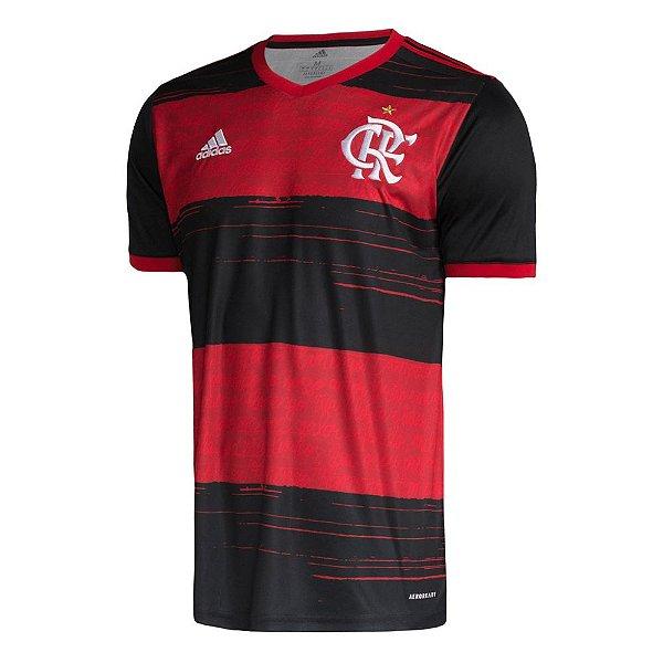 Camisa Oficial Adidas CR Flamengo 2 Masculina Vermelha