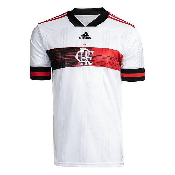 Camisa Oficial Adidas CR Flamengo 2 Masculina Branca