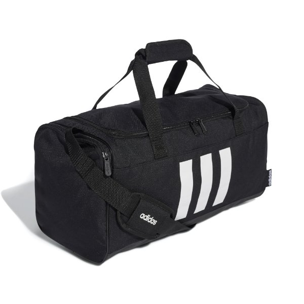 Bolsa Duffel 3-Stripes Pequena Adidas Unissex Preta