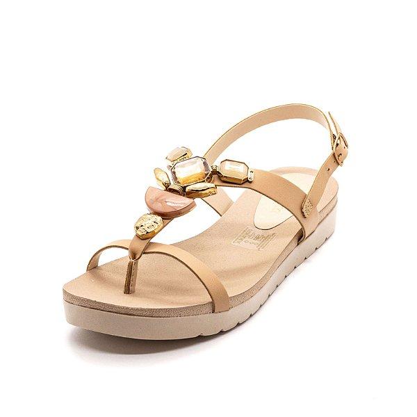 Sandália Plataforma Dakota Feminina Peach