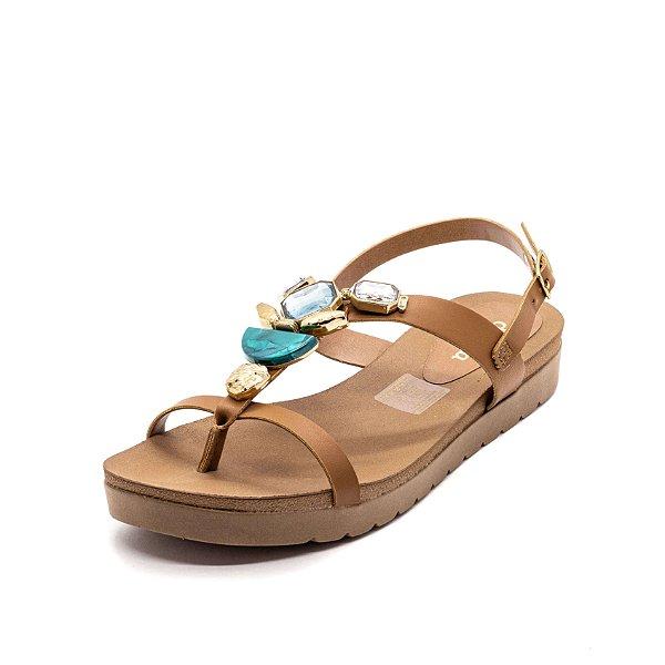 Sandália Plataforma Dakota Feminina Mascavo