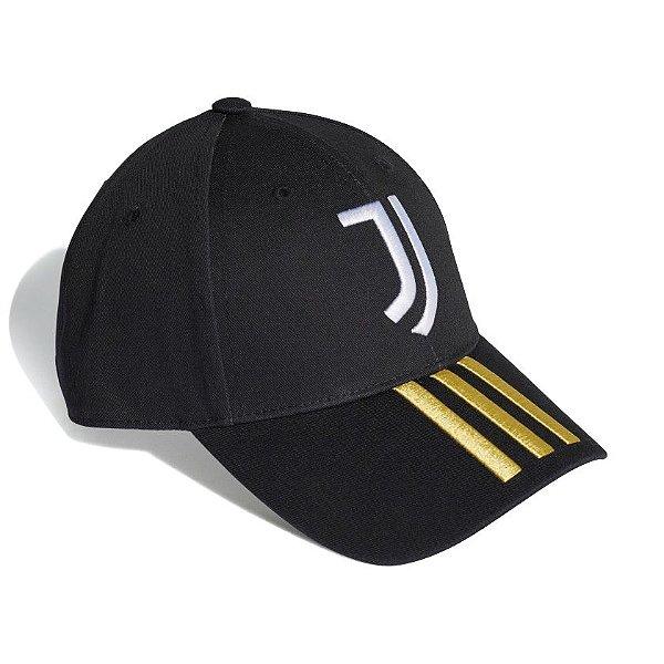 Boné Adidas Baseball Juventus Masculino Preto