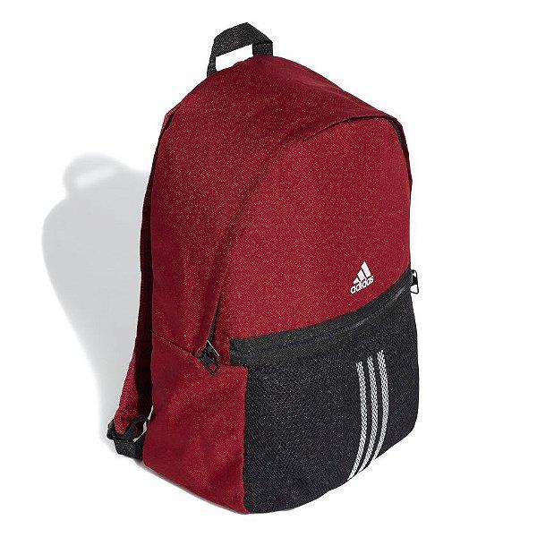 Mochila Esportiva Adidas Classic 3-Stripes Unissex Vermelha