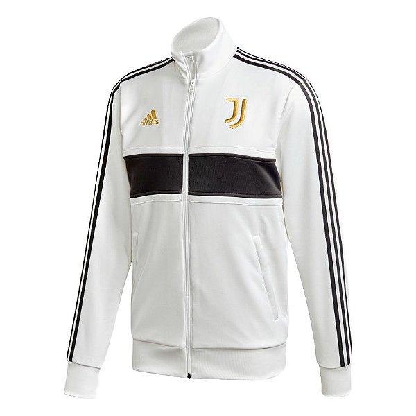Jaqueta Adidas 3-Stripes Juventus Masculina Branca