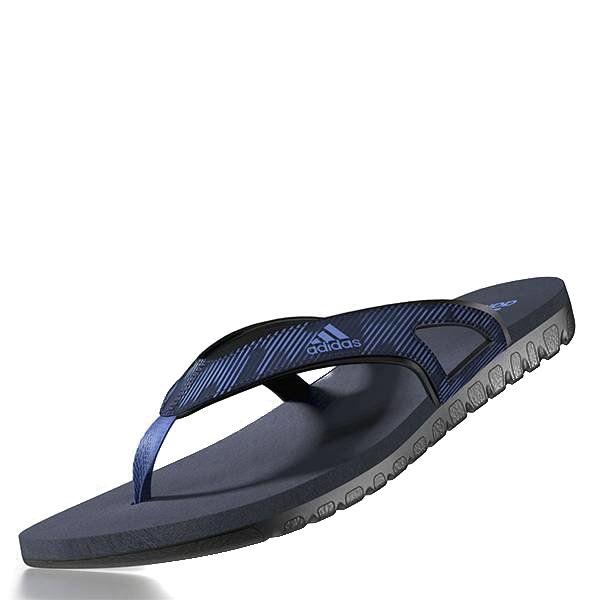 Chinelo Adidas Masculino Preto e Azul