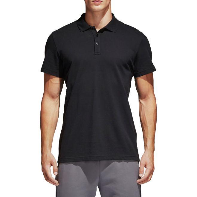 Camisa Polo Adidas Masculina Preta