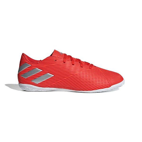 Chuteira Futsal Adidas Nemeziz 19.4 Masculino  Vermelha