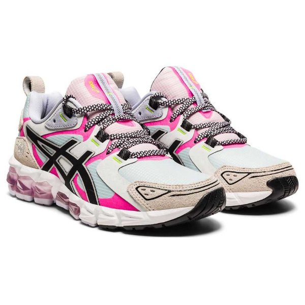 Tênis Esportivo Asics Gel-Quantum 180 Feminino Branco e Rosa