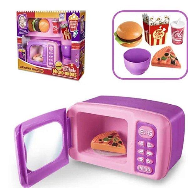 Meu Lanchinho Micro-Ondas - Zuka Toys