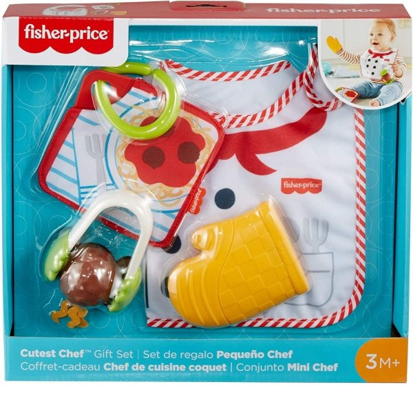 Brinquedo Fisher-Price Conjunto Mini Chef Infantil  - Mattel