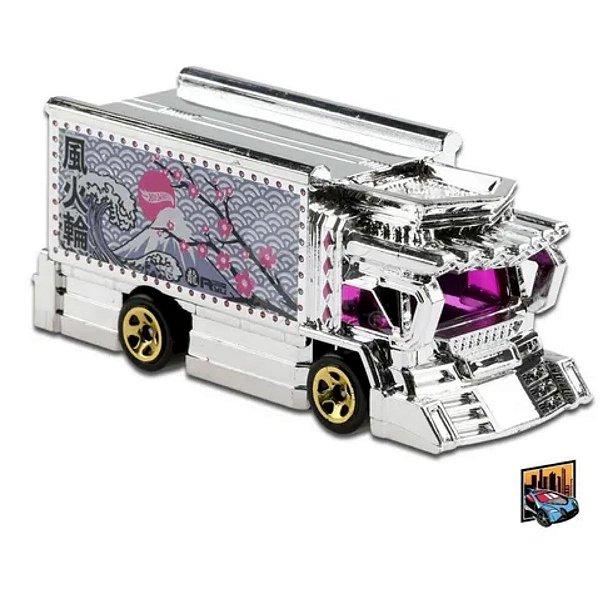 Raijin Express - Caminhão #102 - 1/64 - Hot Wheels 2021