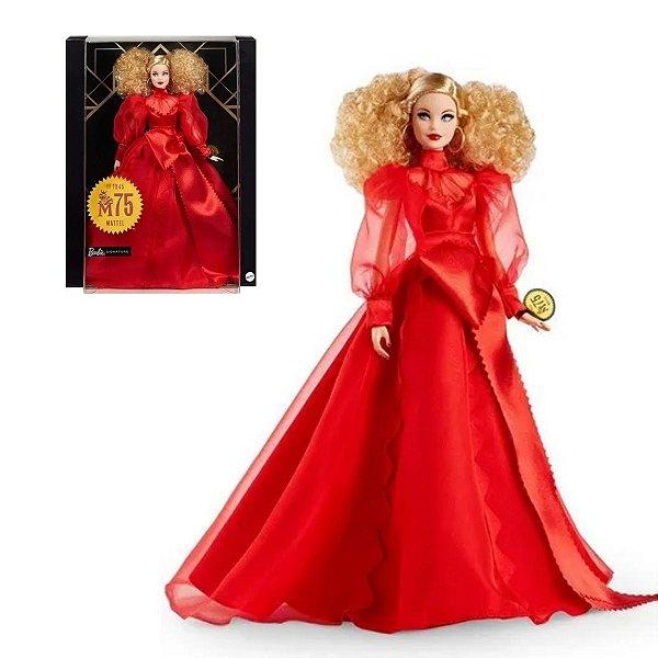 Barbie Signature Edição De Colecionador Aniversário 75 Anos