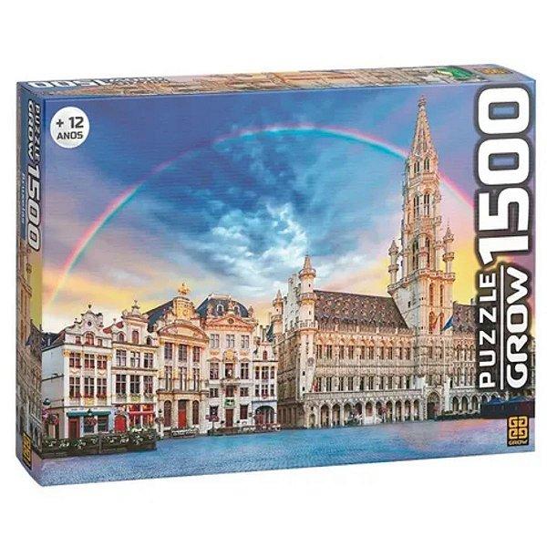 Quebra-Cabeça Bruxelas 1500 Pçs - Grow