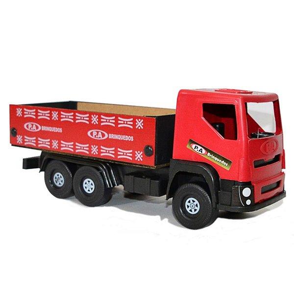 Caminhão De Madeira Carroceria Médio - P.A Brinquedos