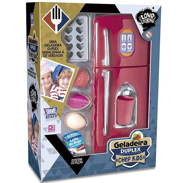 Geladeira Duplex Chef Kids - Zuca Toys