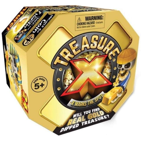 Treasure X - O X Marca o Local - Caçador de Tesouros - Dtc