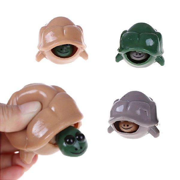 Fidget Toy Chaveiro Tartaruga Sortido