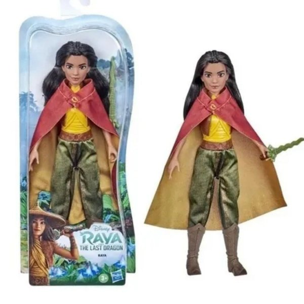 Boneca Clássica Princesas Disney Raya - Hasbro