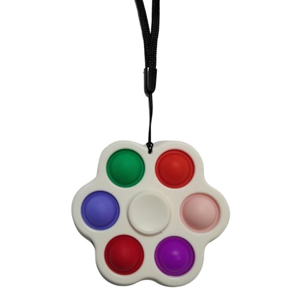 Fidget Toys Chaveiro Spinner Pop It