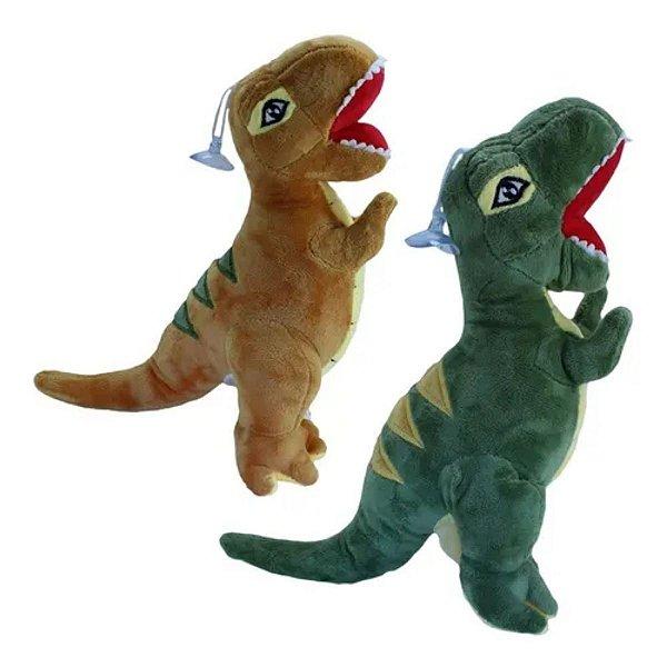 Dinossauro Pelúcia Com Ventosa Sortido - BBR Toys