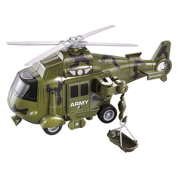 Helicóptero Operação Resgate - Cores Sortidas - Dm Toys