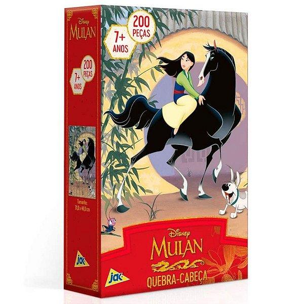 Quebra-Cabeça - 200 Peças - Disney Mulan - Toyster