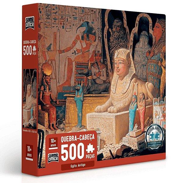 Quebra-Cabeça 500 Peças - Egito Antigo