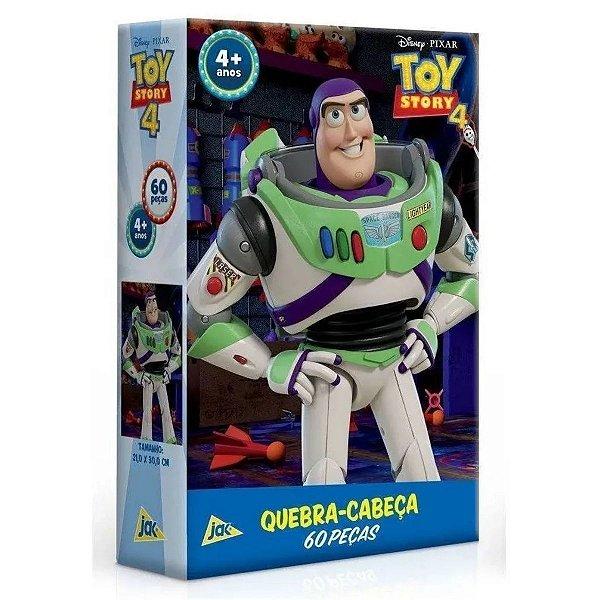 Quebra-cabeça 60Pçs - Toy Story 4 Buzz - Toyster