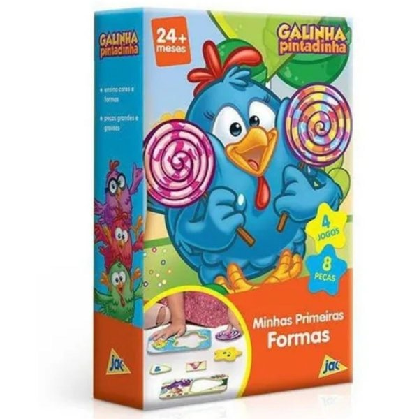 Minhas Primeiras Formas Galinha Pintadinha -Toyster