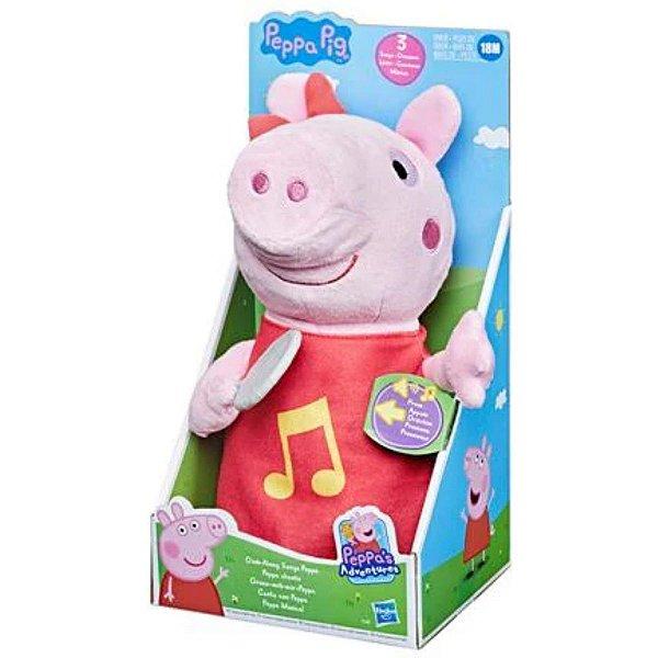 Pelúcia Musical Peppa Pig Plush - Hasbro