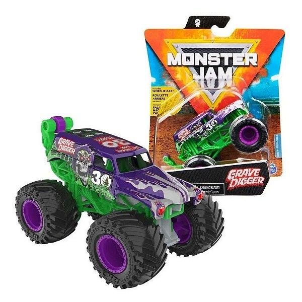 Monster Jam - 1:64 Die Cast Grave Digger - Sunny