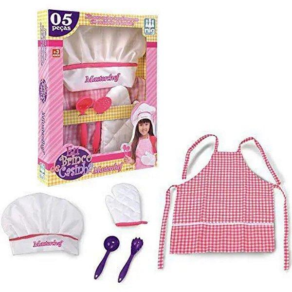 Gran Chef Rosa, Eu Brinco de Casinha - Nig Brinquedos