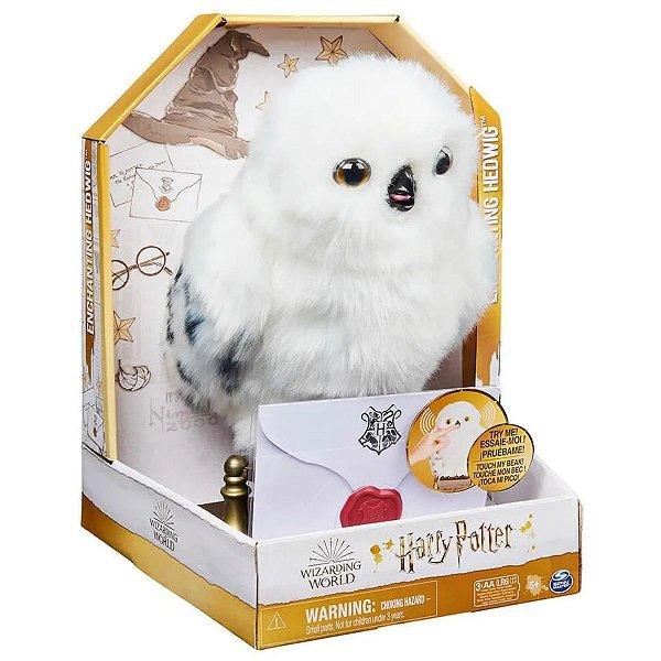 Harry Potter Enchanting Hedwig Edwiges Interativa -Sunny