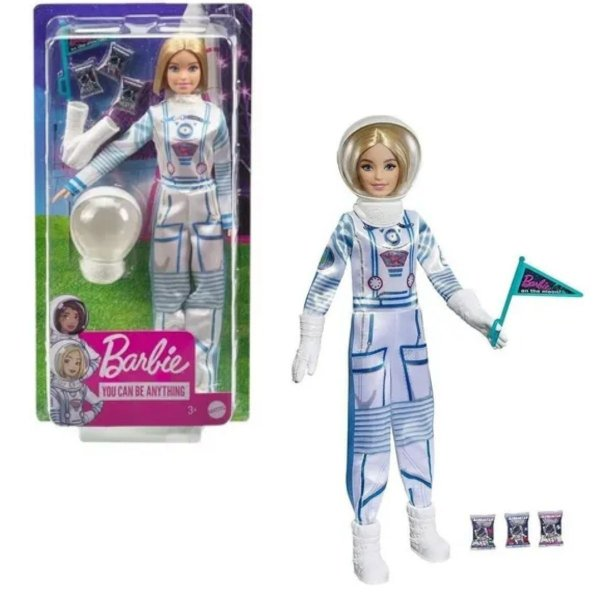 Boneca Barbie Profissões Deluxe Astronauta - Mattel