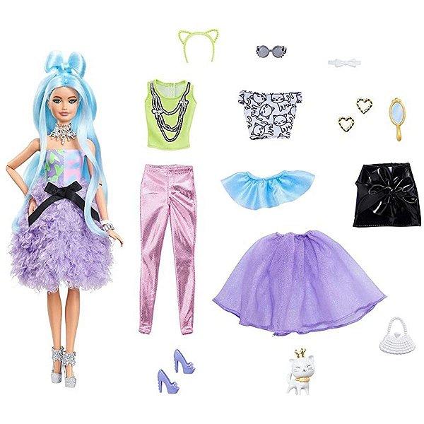 Boneca Barbie Extra Deluxe 30+ Looks - Mattel
