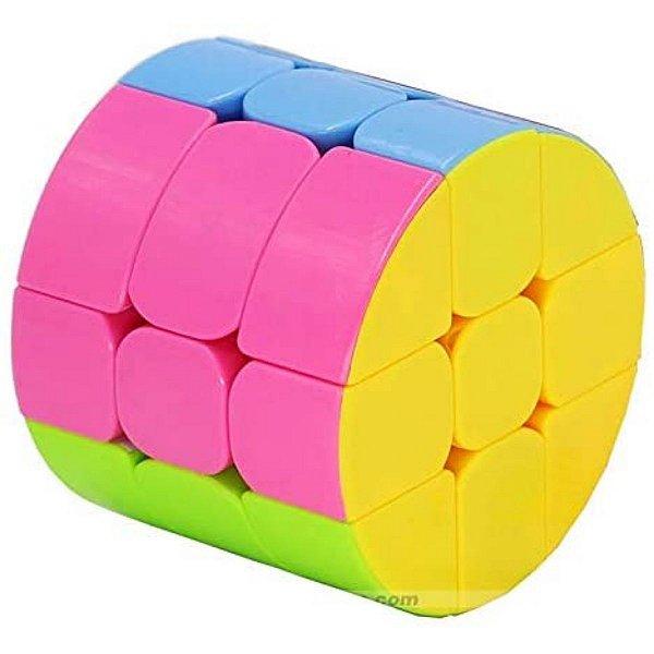 Fidget Toys Cubo Mágico 3x3 Cilíndrico